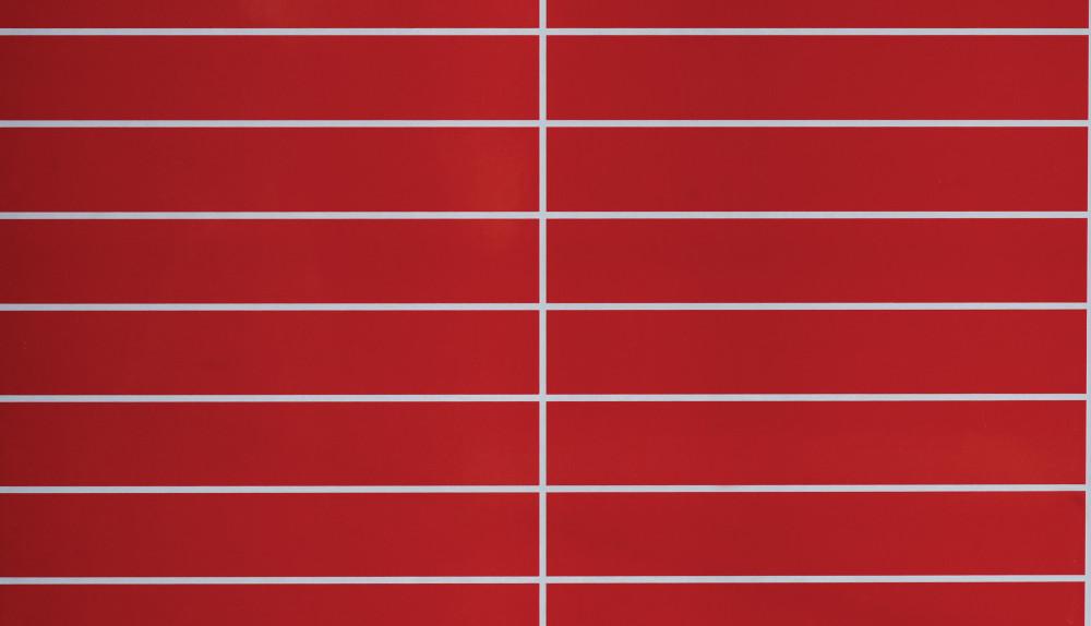 Rødt mønster