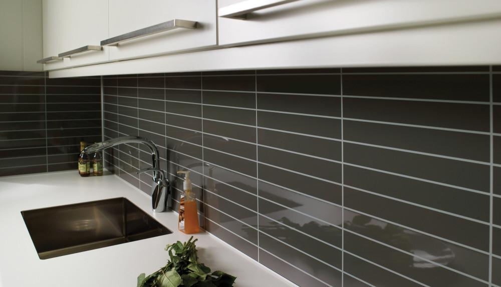 Kjøkkenbenk i hvit