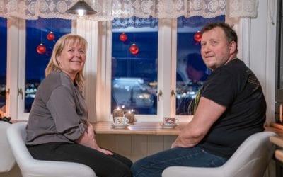 Britt Helen og Alf realiserte drømmen – bygget kjøkken med to stekeovner